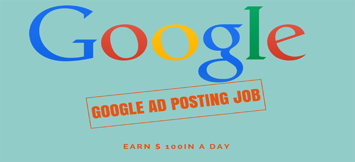 Google Ad Posting jobs for College Students