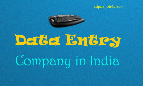 data entry Company in India