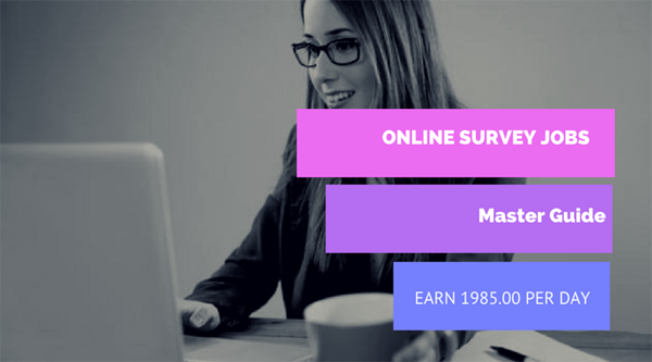 online survey jobs in india without investment