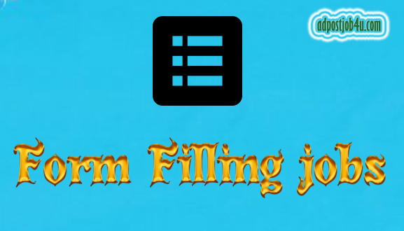 Form Filling jobs