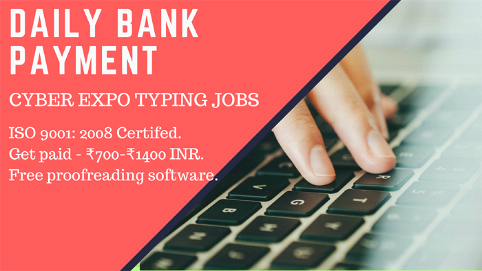 Online Typing Jobs Rs 1 Registration Fees 2 Year Trail