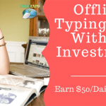 Part Time Offline Typing Jobs  Without Investment and Registraction Fees.