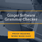 Ginger Software Review- Free Grammar Checker for Typing Projects